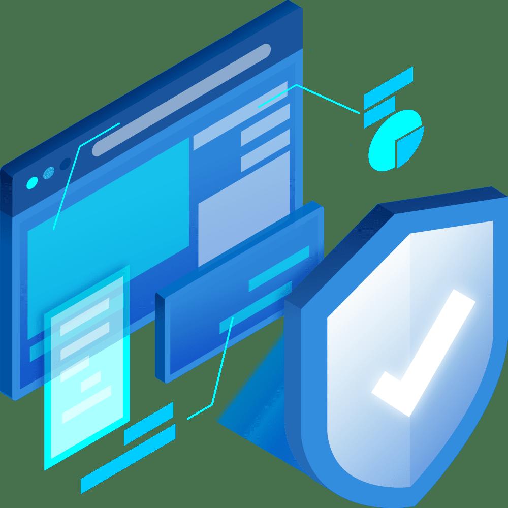 Illustration sécurité internet   Datapulse